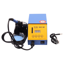 Temperature control low temperature alerting digital display smart soldering iron station