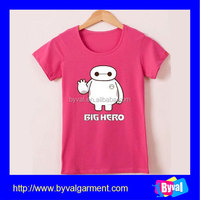 Custom t-shirts no minimum high quality cotton t-shirts wholesale kids clothing