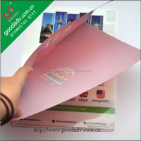 Attractive promotional gifts advertising printing file decoration with school file