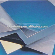 smoothly self-adhesive protective film for plastic acrylic sheet metal