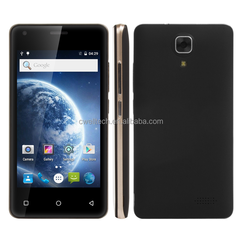 4 Inch IPS Touch Screen MTK6737M Quad Core Android 7.0 UNIWA A5 4g mobile phone made in china
