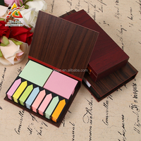 note pad wood holder