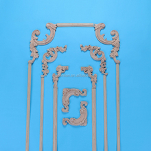 Decorative wood carvings molding and corners onlays