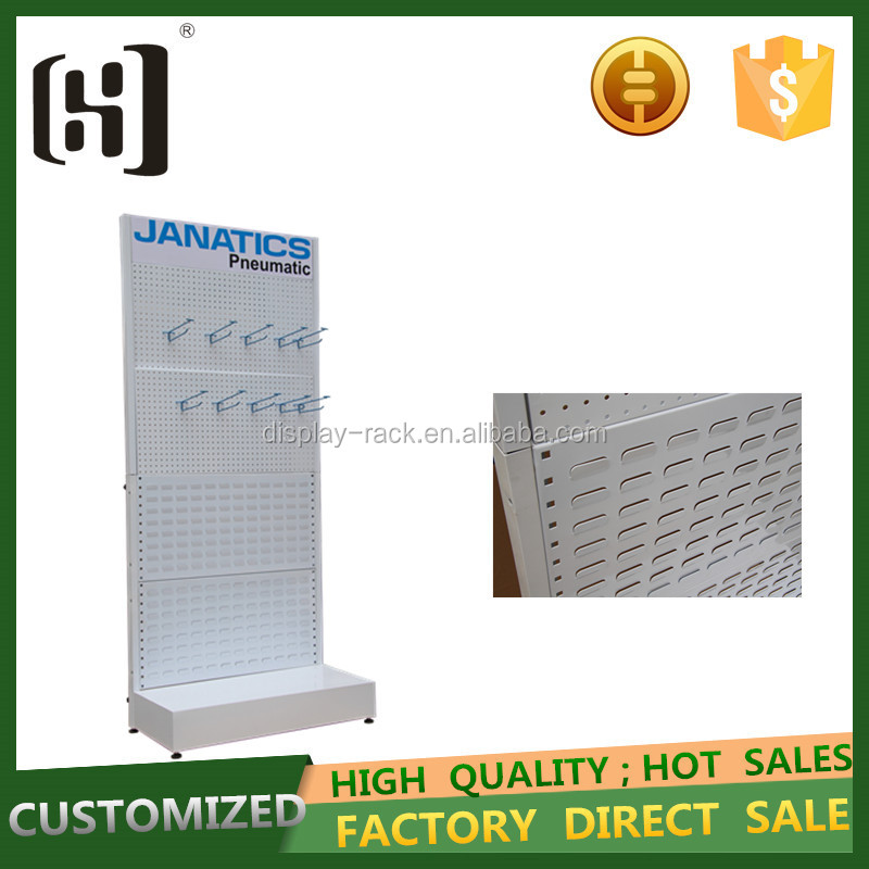 high quality hot sales cell phone accessory Mobile Phone Chargers display rack with pvc lamphouse