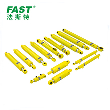 Double acting telescopic hydraulic cylinder