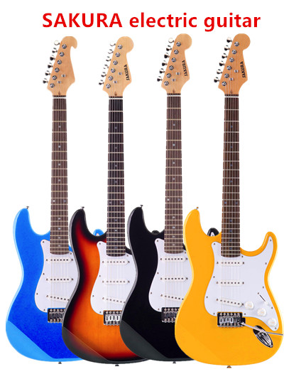 ST style Solid wood body Eletric guitar, hot selling, Factory produce