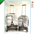 Patterned Spinner PC Luggage Set Trolley Hard Luggage