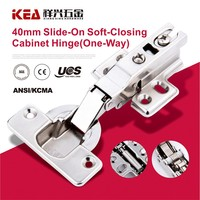 [K22B]New Style Slide-on Soft-Closing Hinge Hydraulic 40mm Cup Cabinet Hinge