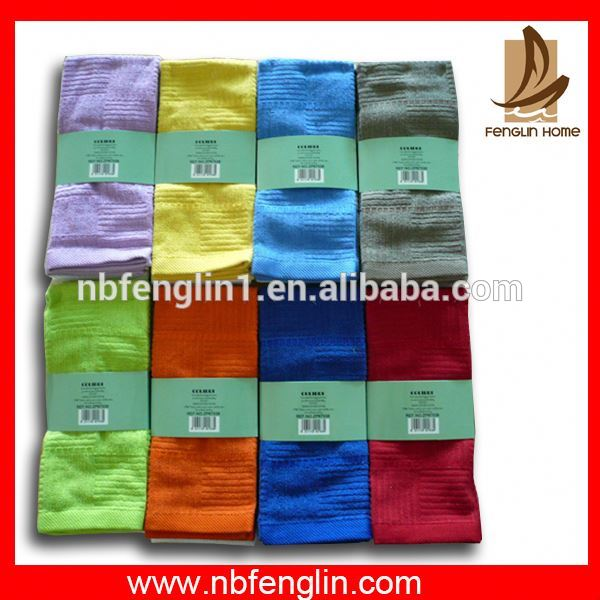 Home Textile cleaning clothes absorbent microfiber cleaning cloth for kitchen