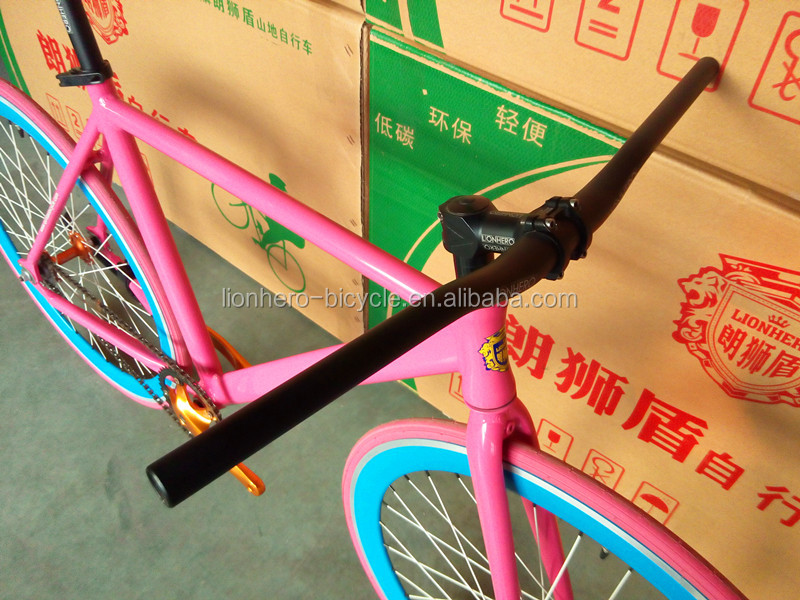 6061 aluminum alloy frame bmx race tires bycicle fixed gear bike
