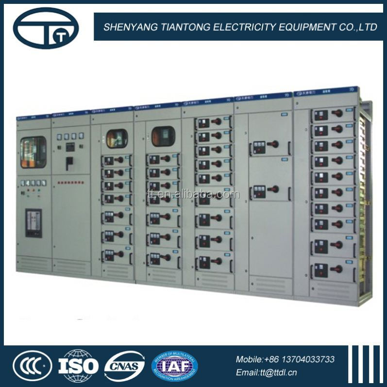 High Insulation Without Pollution For Business Centers wide application GCS low voltage switchgears