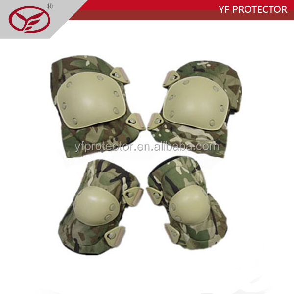 Tactical elbow &knee pad/ Cordura and TPU materials tactical knee and elbow support