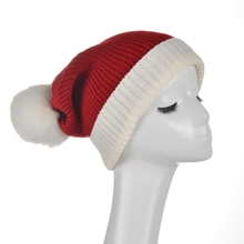 2017 New Women Unisex Winter Warm Knitted Beanie Hat Warmer Hip hop Ski Caps and Hats