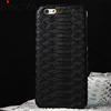 Natural Real Snake Skin Leather Case Protective Back Hard Cover For iPhone 6 mobile phone accessories wholesale
