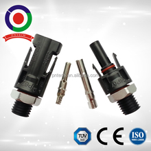 High quality TUV certified mc4 solar panel mount cable connector