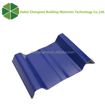 Light Weight Corrugated asa pvc roof sheet