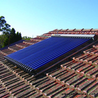 green solar energy pressurized solar heating system solar collector