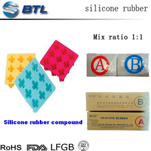 Low temperature platinum cureds silicone for industrial product