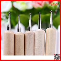 YASHI Nail Art Dotting Tool And Brush