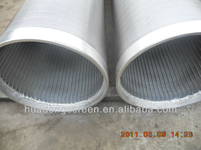 Ss Slot Screen Pipe For Crude Oil In Stock