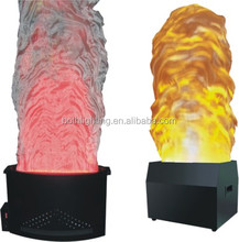 led dmx fake fire led silk artificial flame dj effect light