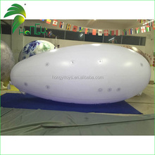 6m Long Inflatable RC Helium Blimp, Giant Inflatable Airship With LED Lighting For Sale