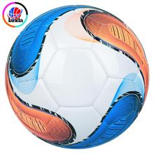 size 5 PU leather soccer ball rubber bladder