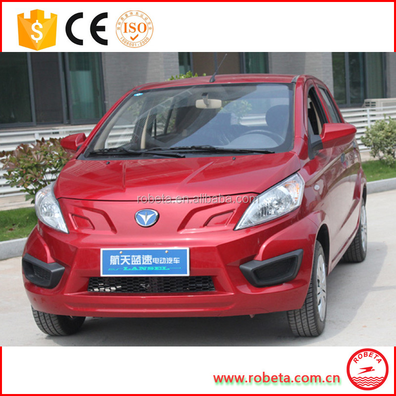 Pure Electric Urban Car Convert Type Dual 6000w Car4 wheel electric car /4 seats electri car for sale