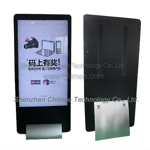 65 inch tft monitors usb flash drive advertising video display