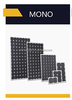 Commercial Application mono solar panel for big projects and power plant