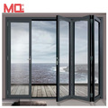 Modern interior house main door design aluminium folding door