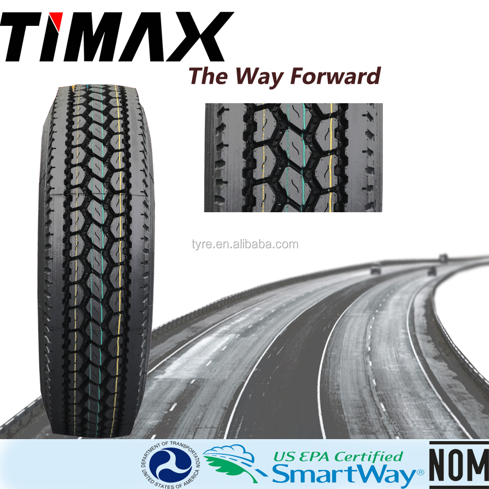 TIMAX BRAND TRUCK TIRES LOW PROFILE 22.5 11R 22.5 295/75R 22.5