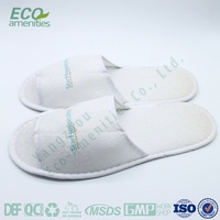 Cheap fluffy indoor guest slippers
