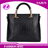classical black Nice PU Leather Fine Royal Lady Hand Bag With Shoulder Strap from Chinese Factory