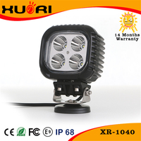 10-30v 4pcs*10w 40w CR EE Offroad Led Work Light For Tractor,Forklift,Off-road,Atv,Excavator,Heavy Duty Equipment