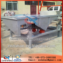 Xinxiang Dahan wheat starch linear shaking screen separators with stainless steel