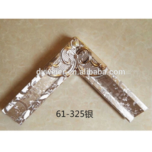 Chinese pvc lover Material and pvc material frame moulding /photo frame