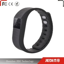 Funny silicone wristband with burned calories counter gl1417