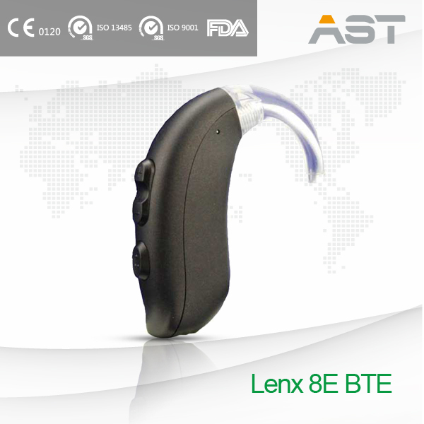 Easy Fitting Custom Hearing Aids BTE for Profound Hearing Loss People