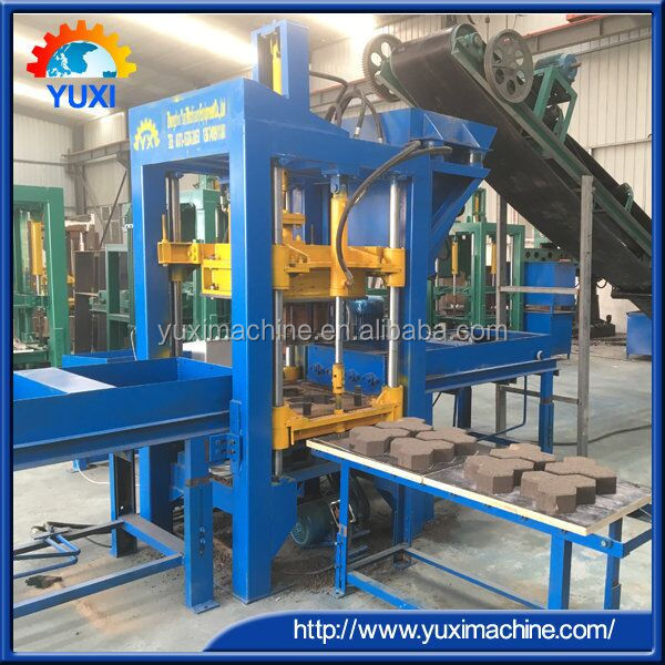 compressed floor concrete blocks moulding equipment in Zimbabwe/Automatic trailings produce brick blocks machinery price in USA