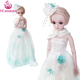 "UCanaan 1/3 BJD Doll 24"" SD Dolls Full Set + Makeup 60cm 19 Ball Jointed Dolls Toy Action Figure + Accessories Gift For Girls"