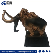 Mammoth ornaments Bronze large indoor animal resin statues sculpture