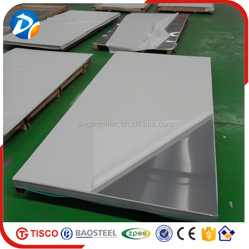 PVC coated decorative 1.4301 sus 304 stainless steel sheet