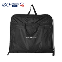 BSCI factory nylon garment bag can foldable for suit