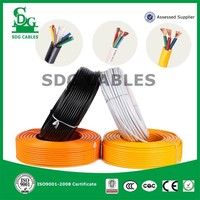 RVV low voltage round multi strand h07vvf household 6mm flexible cable