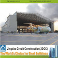 JDCC Galvanization light steel structure Aircraft Maintenance Hangar