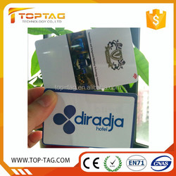 13.56MHz magnetic rfid hotel card free sample
