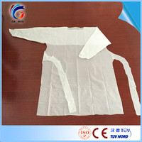 over 8 years experience Cheap price protective cpe gown made in China