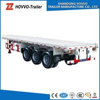 20-40ft 3 or 2 Axles Container flatbed chasis
