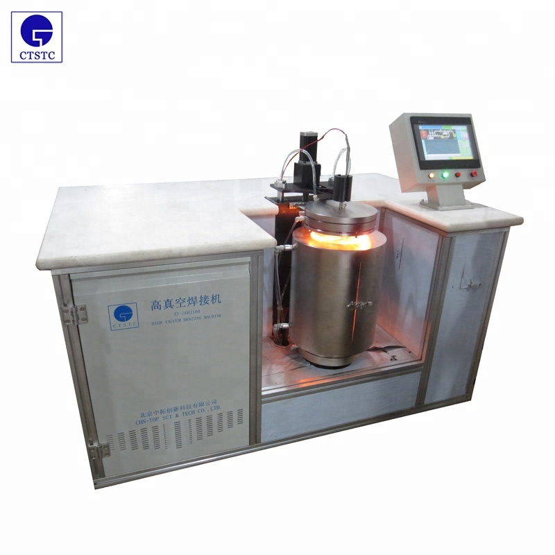 Vacuum brazing machine for diamond tools PCD PCBN CVD MD segments <strong>welding</strong>